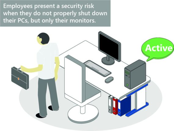 Always on PCs prevent a network access control vulnerability