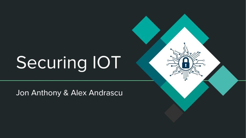 KT Secure - Securing IoTKT Secure - Securing IoT