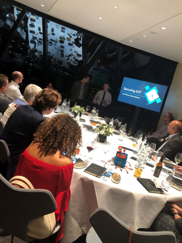 KT Secure Event At The Gherkin